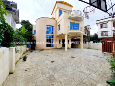 Bungalow for rent at Baluwatar